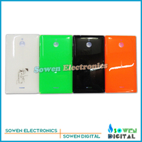 Original new Back battery cover housing with side button sets for Nokia X2 Dual SIM RM-1013 X2DS,black,green,orange,white