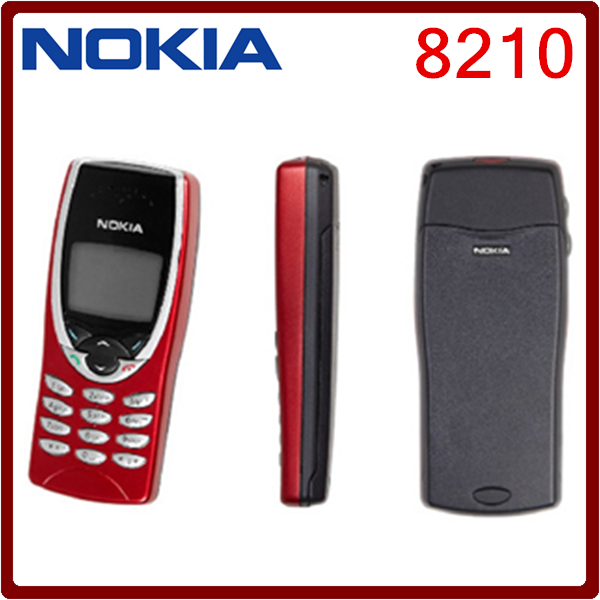 8210 Original Nokia 8210 GSM 2G Unlocked Cheap Cell Phone One year warranty Free Shipping(China (Mainland))