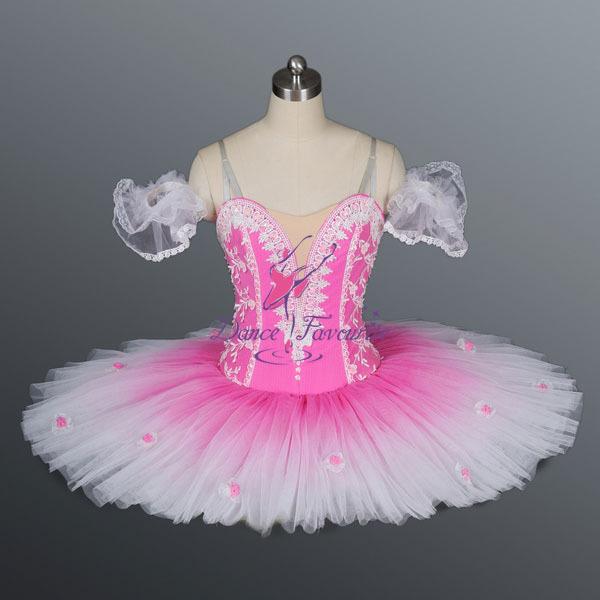 Stunning Loveliest Collection! Ballet Tutu Ballet Dress Ballet Costume Dance Wear Ballet Skirt Girls Ballerina Dress Pink(China (Mainland))