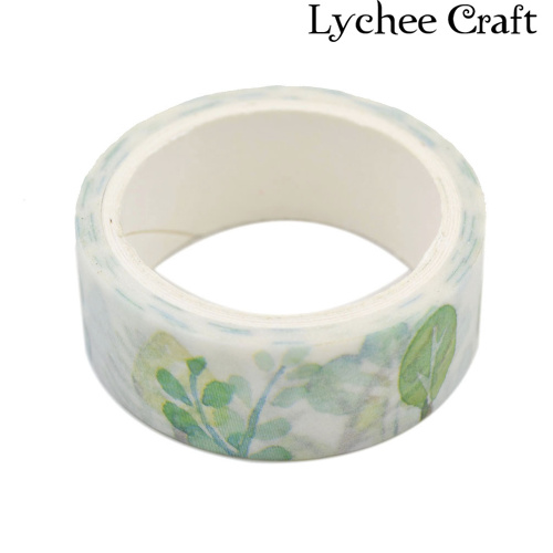 Lychee Craft Washi Sticky Paper Wall Art Washi Tape Adhesive Scrapbooking Christmas Gift DIY Decorative Tape<br><br>Aliexpress