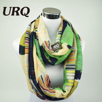 Дизайнерские брендовые модные бесконечность шарфы зима теплая плед женщина шарф-труба тартан шарфы V8A9213