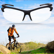 Buy 1 pc Sport Outdoor Riding Cycling UV400 Protection Sunglasses Transparent free for $1.15 in AliExpress store