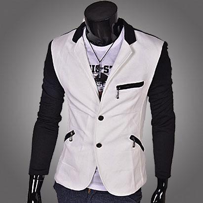 2015 fashion brand latest male casual blazer men suit terno jaquetas e casacos masculino jacket slim fit chaquetas hombre X38(China (Mainland))