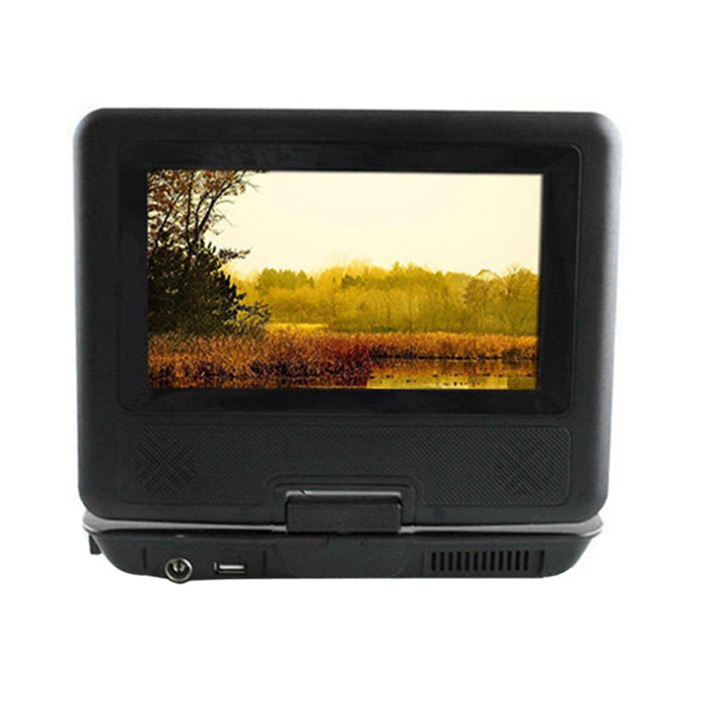 2016 EU BLACK Newest 7 inch Portable DVD EVD Player TV VCD CD MP3/4 SD USB GAME Mobile TV free shipping(China (Mainland))