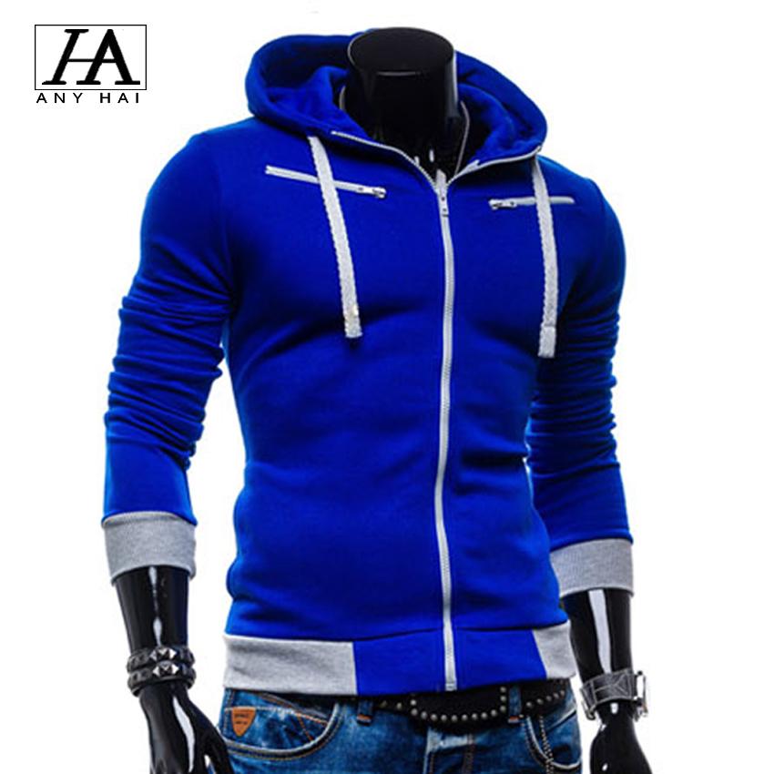 2015 new brand sweatshirt moleton masculino hoodies men sudaderas hombre tracksuit men zipper assassins creed slim hoodie MC59(China (Mainland))