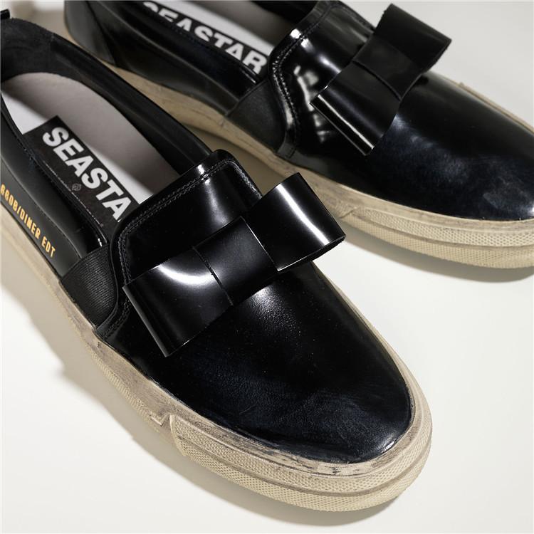 2015 Italy Luxury Brand Golden Goose Men Sneakers Women Handmade Comfortable Low Slip On Casual Black GGDB Superstar Shoes<br><br>Aliexpress