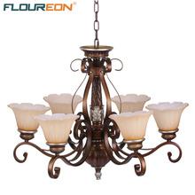 Floureon 6-Light Antique Pendant Light,Home Ceiling Light Fixture Flush Mount,Pendant Light for Home Decoration(China (Mainland))