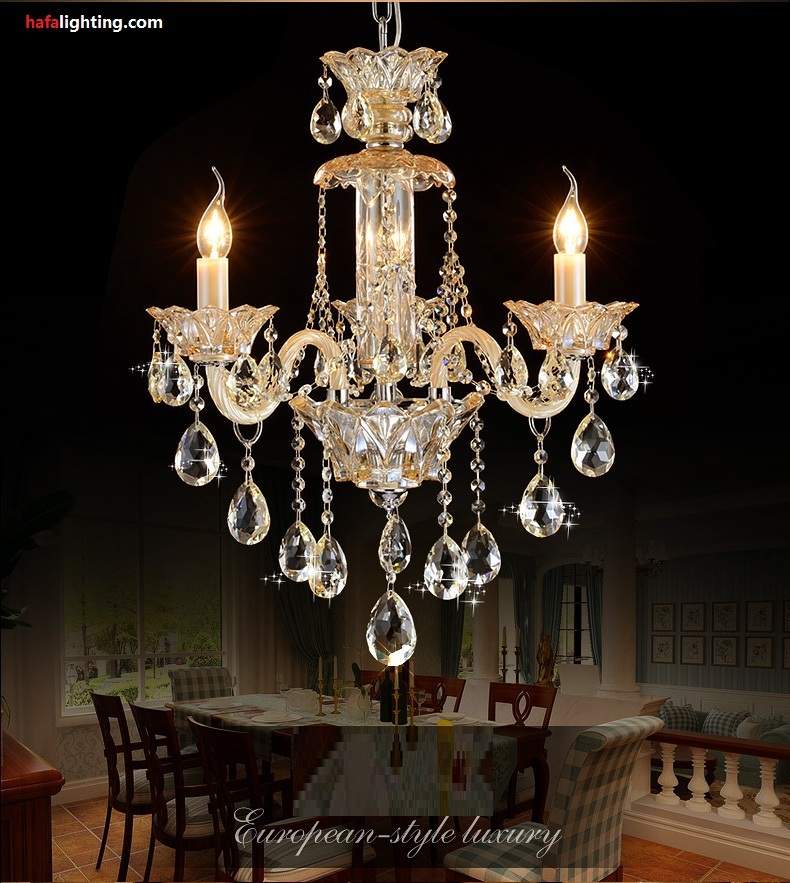 small bedroom crystal chandelier lighting fixture living