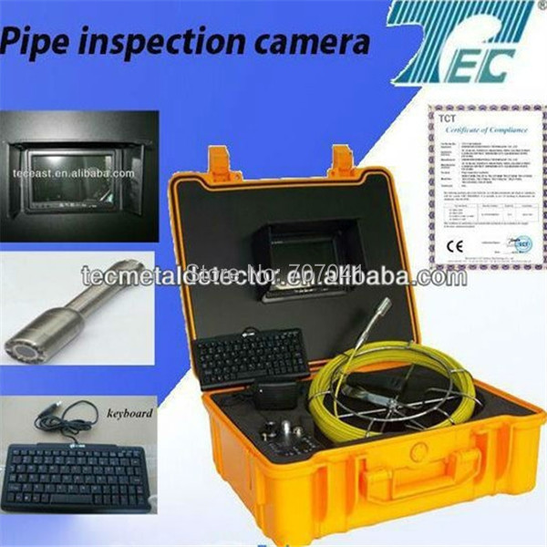 With a ABS BOX underwater camera pipe inspection camera with a keyboard TEC-Z710DK(China (Mainland))