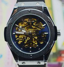 Winner para hombre comercial reloj mecánico completamente automático para hombre reloj del regalo del reloj j296