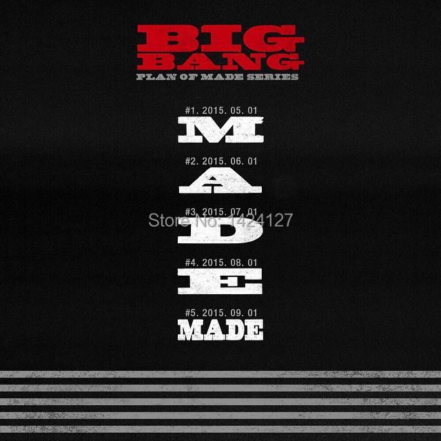 Чистые диски 1 BIGBANG /2covers 2016 bigbang world our made final in seoul live