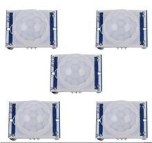 Buy Free 5PCS SR501 HC-SR501 Adjust IR Pyroelectric Infrared PIR module Motion Sensor Detector Module arduino for $4.07 in AliExpress store