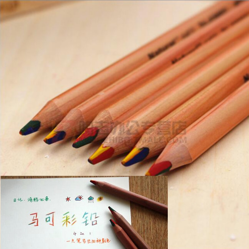 LZ colored pencil wood kids diy drawing child doodle pencil school &amp; office supplier wholesale<br><br>Aliexpress