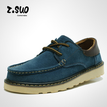 2013 New arrival High Quality leather Men's Z . suo Casual boots Cheap male outdoor tooling Windproof shoes  Free shipping(China (Mainland))