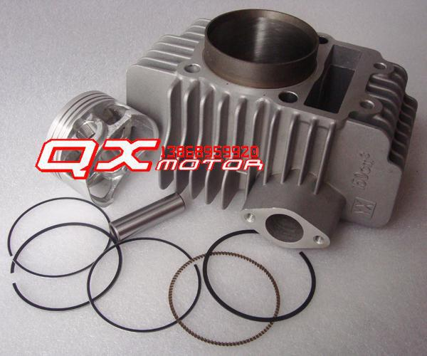 Motocross accessories 150/160 lying cylinder engine cylinder sleeve cylinder piston cylinder kit(China (Mainland))