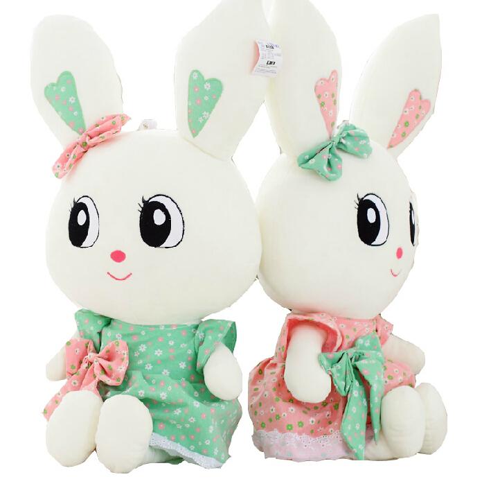 MaMas&papas Cute Rabbit Baby Soft Plush Toys Brinquedos Plush Rabbit Stuffed Toys White Cheapest Price Best Gift for Kids(China (Mainland))