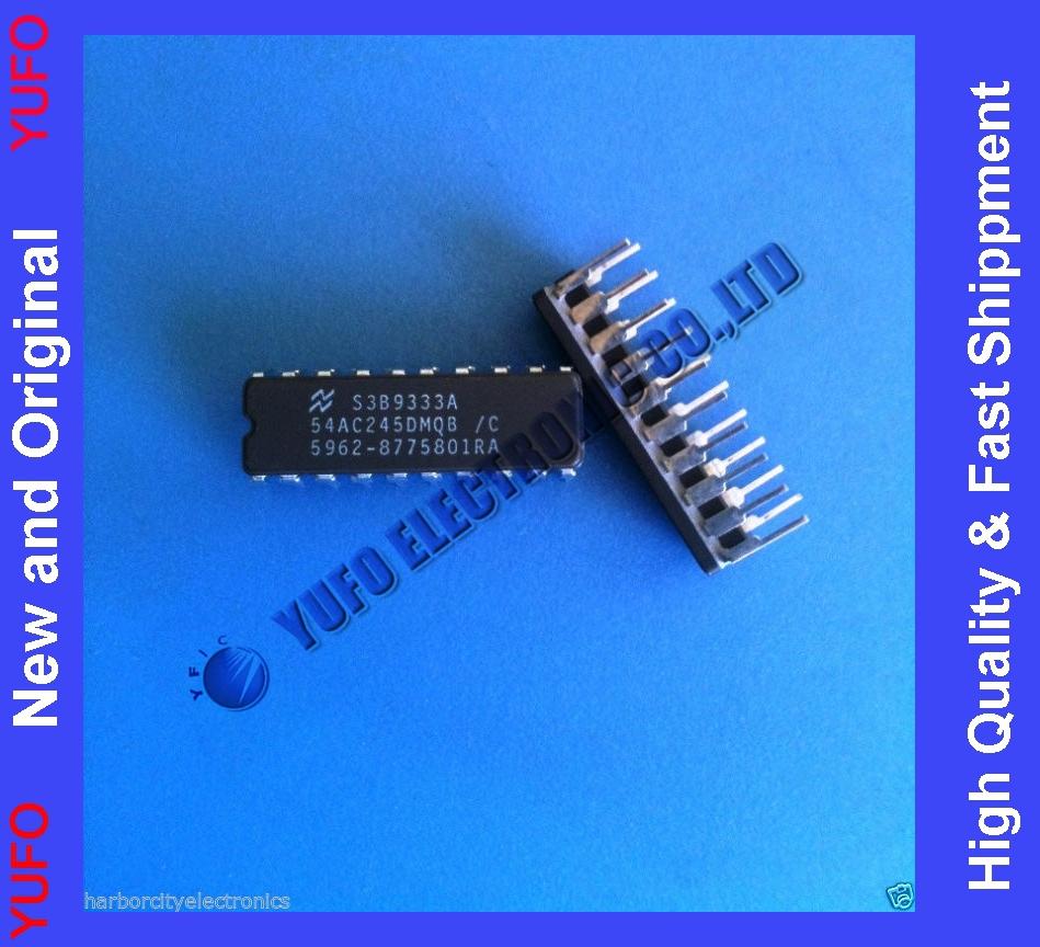 Free Shipping 54AC245DMQB/C NATIONAL SEMI Bus XCVR Single 8-CH 3-ST 20 PIN CERAMIC DIP(China (Mainland))