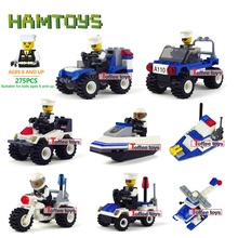 1 pcs/lot City Police Series Building Blocks Compitable with Lego Police Minifigures Car Motorcycle Blocks Assembled Toys #BLP(China (Mainland))