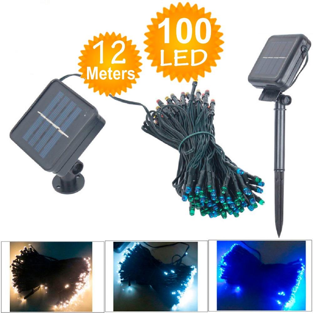 iluminacao jardim led solarLâmpadas de LED Solar luzes cordas