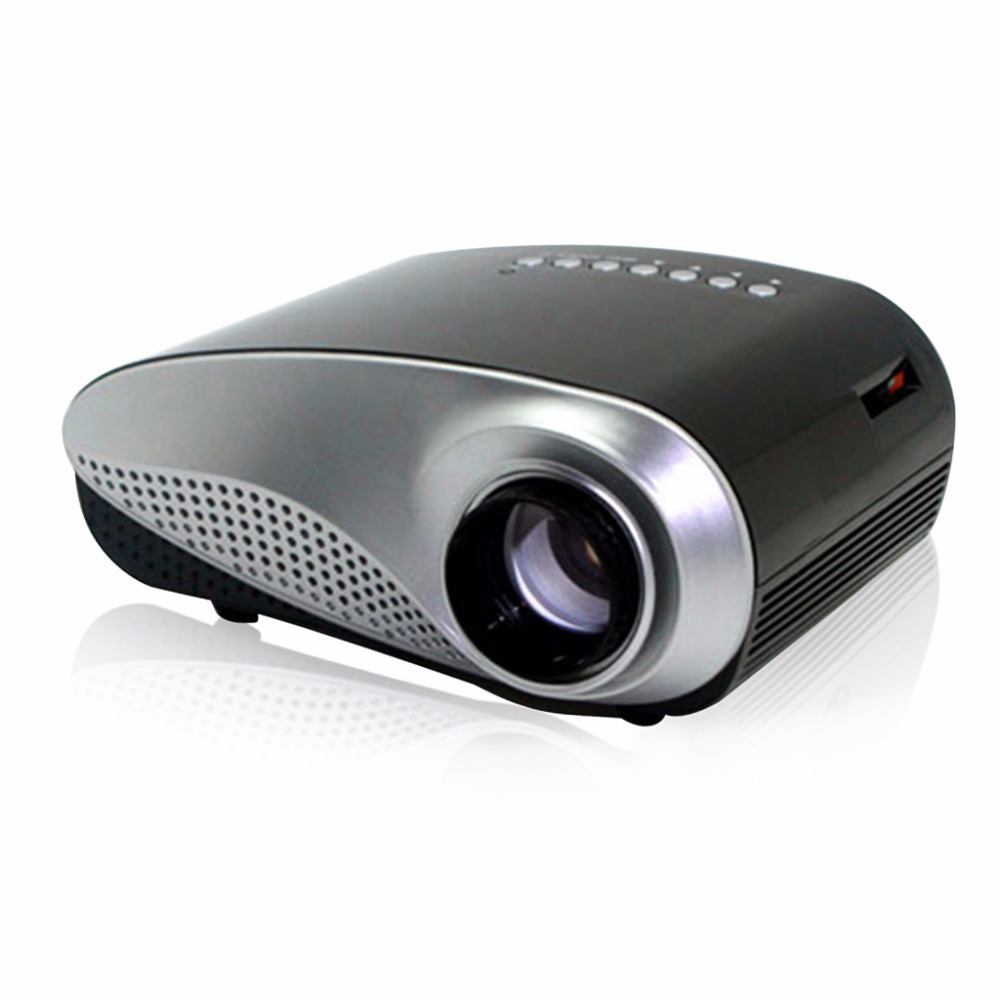 Excelvan portable mini projector home theater led lcd for A small projector