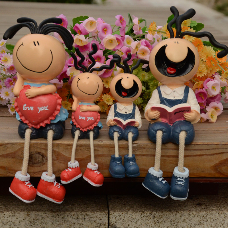 12-free shipping Large doll fashion modern brief lovers decoration crafts home accessories decoration(China (Mainland))