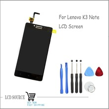 Black Original 5.5″ For Lenovo K3 Note LCD Display Screen With Touch Screen Digitizer Sensors Combo Assembly Replacement