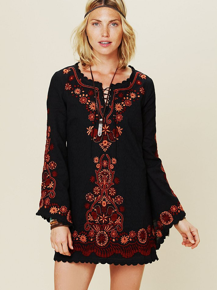 Boho Gypsy Style Online Clothing Vintage Hippie Embroidered