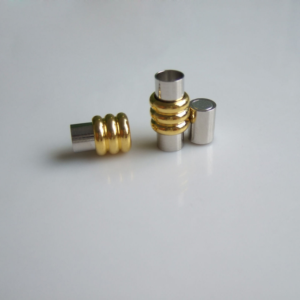 Aliexpress buy sets barrel magnetic clasp end caps