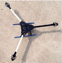 Y600 Fiberglass & Aluminum Tricopter Y3 Y type 3-axis Tri-Copter Frame with Landing Gear RC helicopter