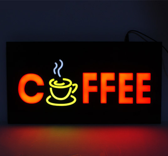 Coffee Shop Open Sign Led Shop Open Signs Coffee