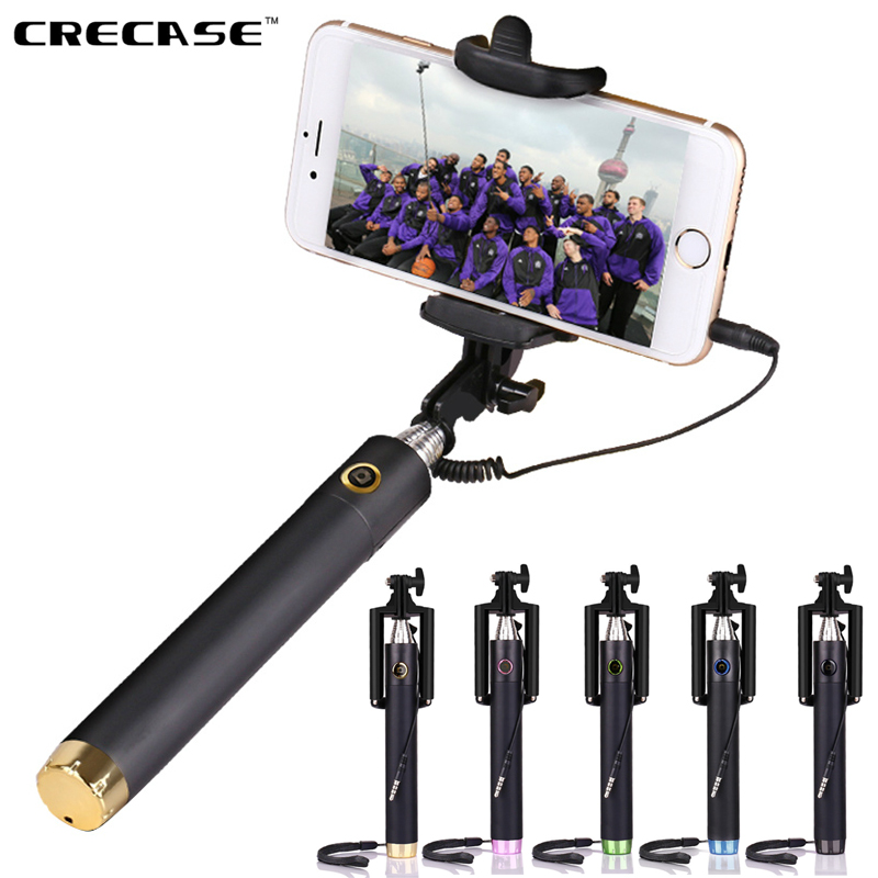 hotsale pocket selfie stick extendable wired monopod. Black Bedroom Furniture Sets. Home Design Ideas