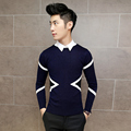 Leisure shirt male new men fashion pattern long sleeve shirts men's clothing of cultivate one's morality