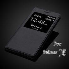 Чехол книжка для Samsung Galaxy J5 J500 J500F с вырезом