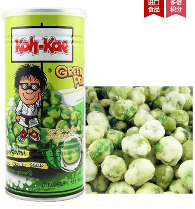 Thailand import snacks eldest brother crispy pea Mustard flavor 180 g import peas, green beans<br><br>Aliexpress