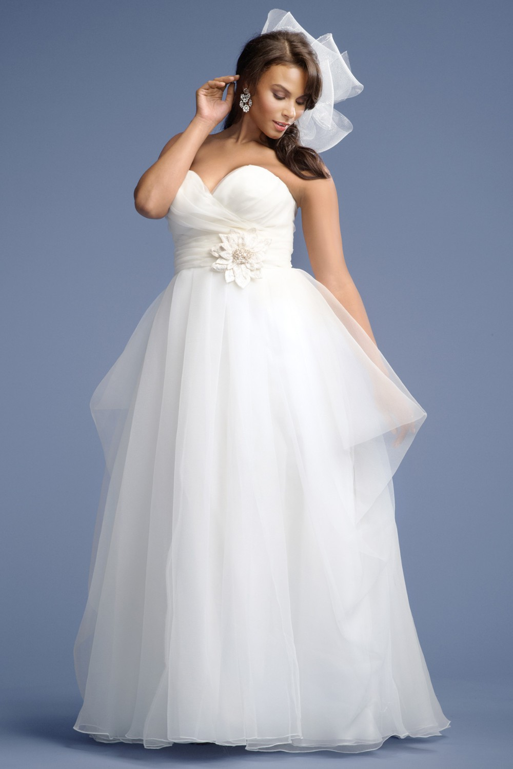 New arrival elegant ball gown sweetheart beaded handmade for Plus size beaded wedding dresses