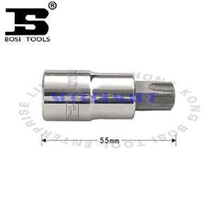 PRETTY 2Pcs 55mm Long 1/2-inch Drive T50 Steel Torx Screwdriver Bit Socket Hand tool*