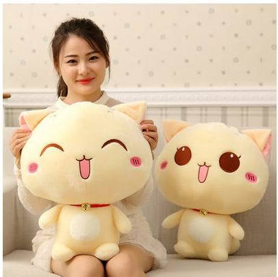 New arrival 30cm Plush Toys Stuffed Animal Doll 2 style Animal toy Pusheen Cat For Girl Kid Kawaii Cute Cushion Brinquedos(China (Mainland))