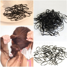 300pcs/pack Trendy Transparent Rubber Band Women Girls Elastic Hair Band Ties Plaits Rope Fashion Hair Accessories Free Shipping(China (Mainland))