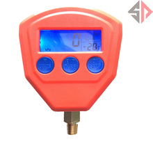 R22 R410 R407C R404A R134A Air Conditioner Refrigeration Single Manifold vacuum gauge Pressure Gauge Tool(China (Mainland))