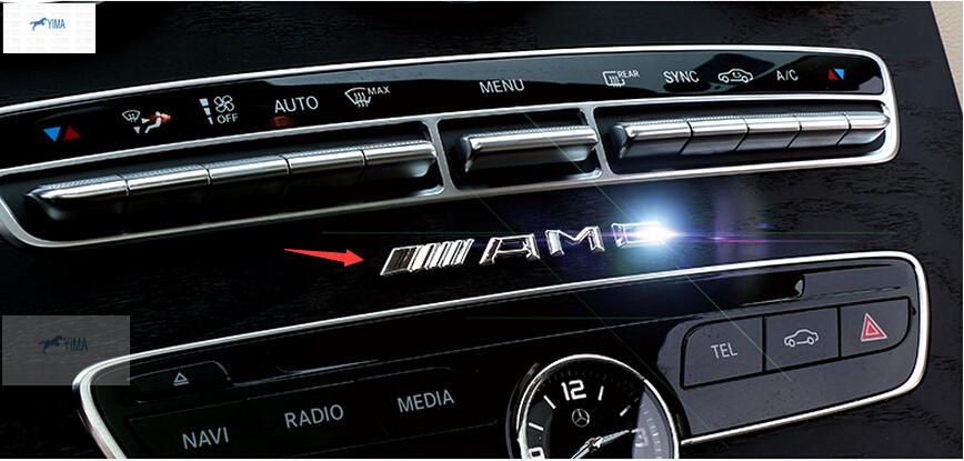 For Mercedes-Benz A Class W176 B Class W246 2012 2013 2014 2015 3D Car Badge Sticker AMG(China (Mainland))