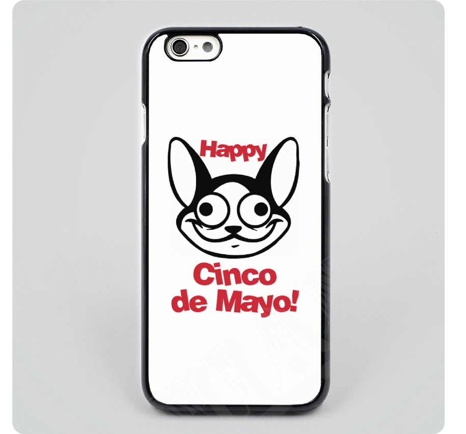 Cinco De Mayo Shot black hard skin plastic mobile phone cases cover for iPhone 4 4s 5 5s 5c 6 6 plus free shipping(China (Mainland))