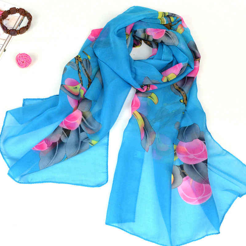 Scarf female spring and summer sunscreen long design silk scarf beach towel ultralarge autumn and winter womens cape femaleОдежда и ак�е��уары<br><br><br>Aliexpress