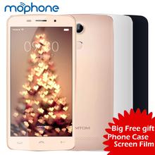 "HOMTOM HT17 Pro Smartphone 4G Android 6.0 Quad Core MTK6737 5.5"" Screen Dual Cameras Smart Wake Gesture FingerPrint Smart Phone(China (Mainland))"