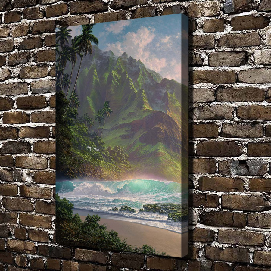 GM-13 Roy Gonzalez Tabora Mountain Tree Scenery .HD Canvas Print Home decoration Living Room bedroom Wall pictures Art painting(China (Mainland))