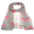 Newly Design Fashion Women Running Horse Print Long Scarf Wrap Shawl Junly14