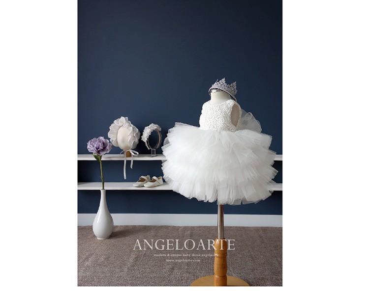 Скидки на Девушки летнее платье принцессы платье девушки цветка платья балетной пачки девушки подарок белое платье