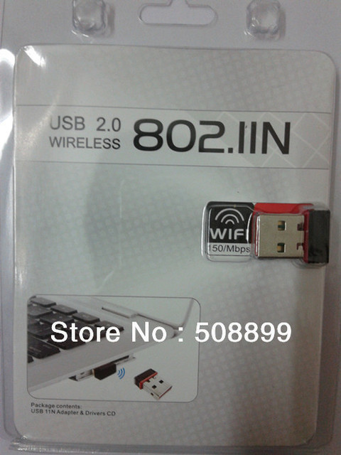 Free Shipping New Mini 150Mbps USB WiFi Wireless Adapter 150M Network LAN Card 802.11 ngb Wireless LAN Adapter Free shipping Hot