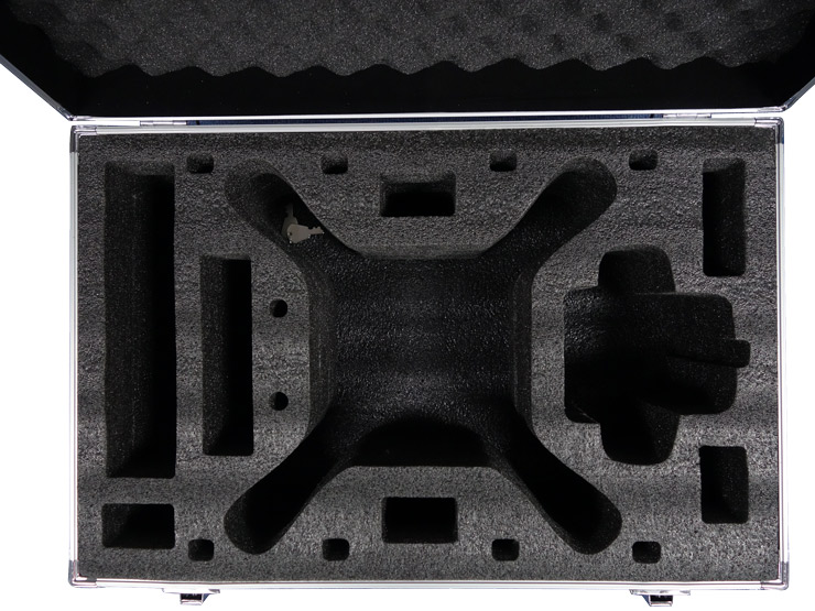 2015 DJI Phantom 3 Aluminum Case for DJI phantom 3 professional & advanced fpv drone quadcopter Box parts toys