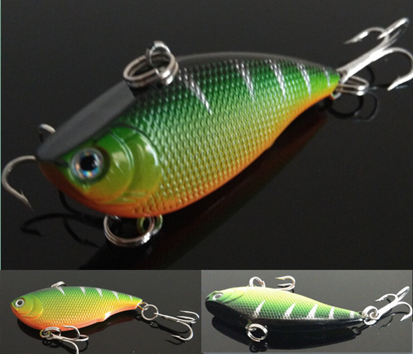 10g 5.5cm 1pcs winter fishing lures hard bait VIB with lead inside lead fish ice sea fishing tackle swivel jig wobbler lure(China (Mainland))