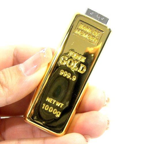 2016 Fashion bullion gold bar USB Flash Drive Pen Drive Flash Memory Stick Drives 64GB 32GB 16GB 8GB 4GB pendrive(China (Mainland))